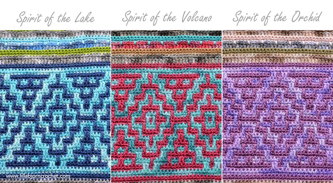 Spirits Of Life Cal Part 2 Mosaic Adventure Lillabjörns Crochet