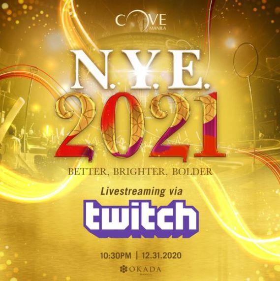 Cove Manila's NYE 2021
