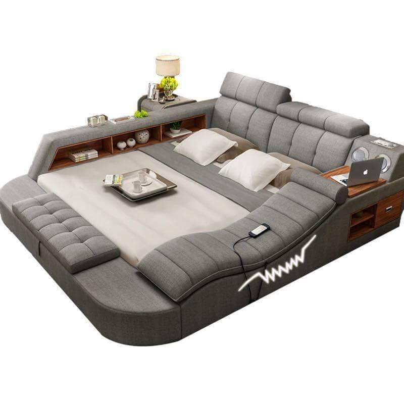 flow us couch sofa grey bed structube