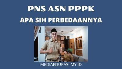 Perbedaan ASN PNS dan PPPK