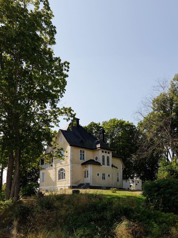 This Romantic Swedish Art Nouveau Villa Could Be Yours!