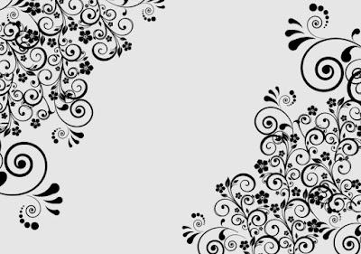 Gambar Dekoratif Pola Elemen Floral Motif Bunga