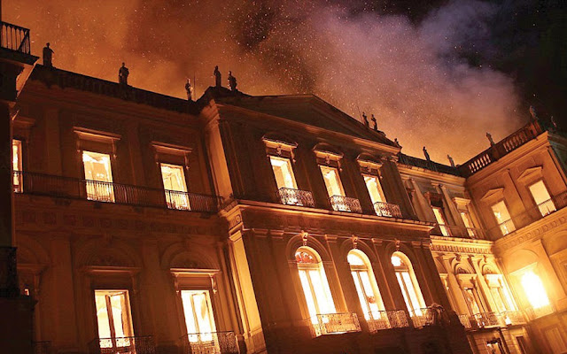 Gutted and broke: Brazil's National Museum pleads for money