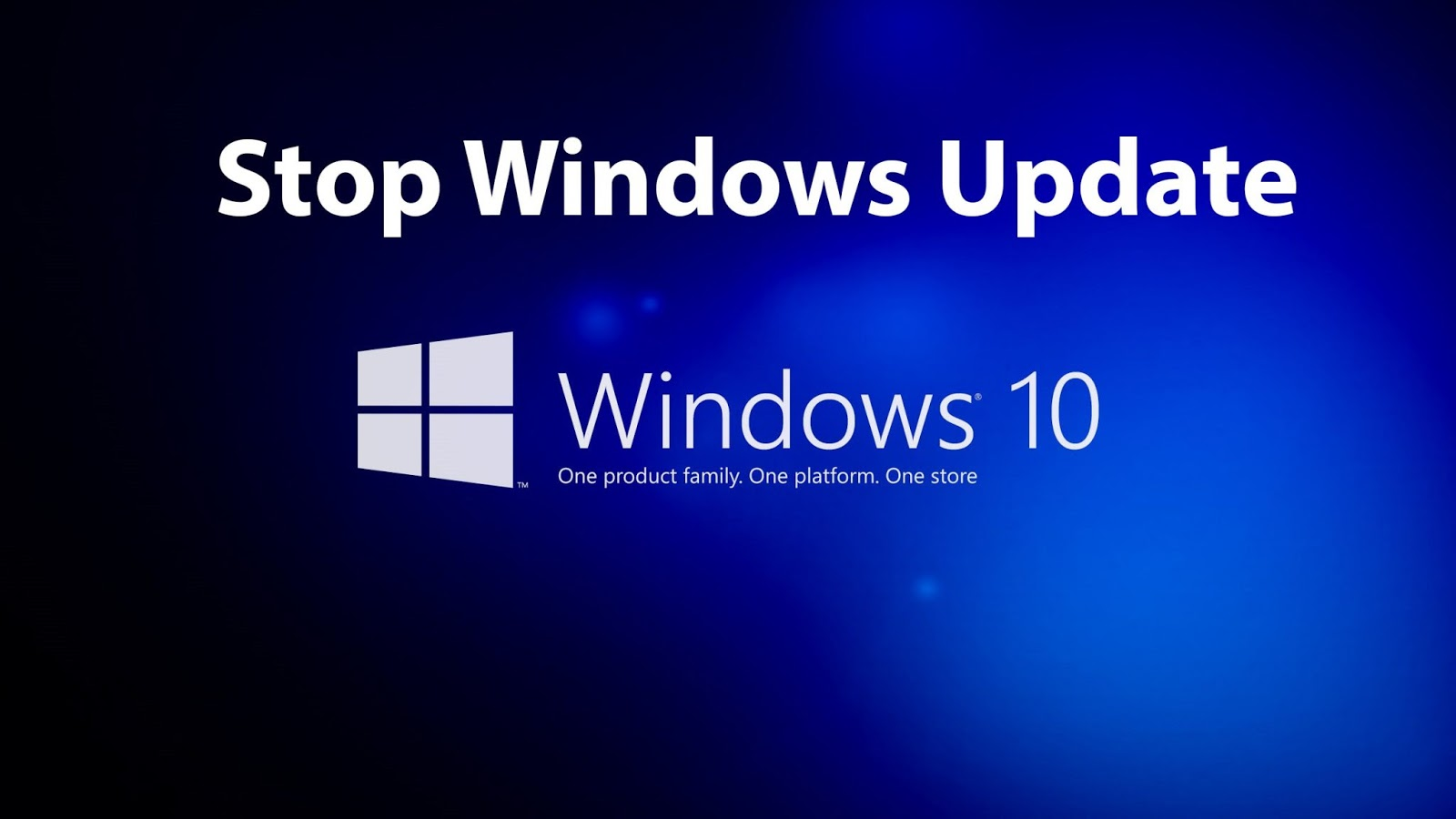 How To Stop/Disable Windows 10 Auto Update (Automatic Update) Permanently