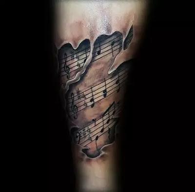 Music Tattoo Images Designs
