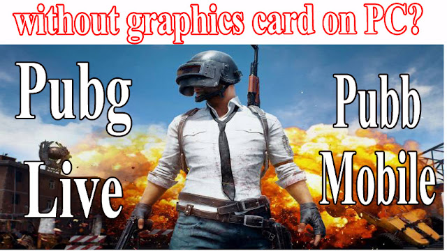 without graphics card on PC? PUBG Lite coming to India