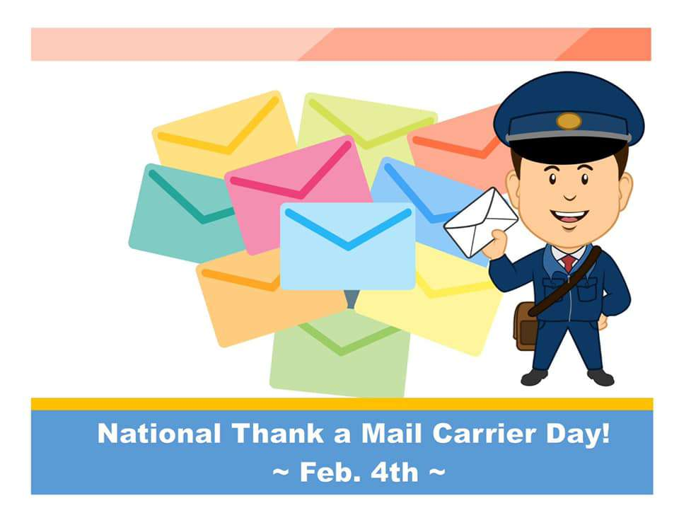 National Thank a Mail Carrier Day Wishes Beautiful Image
