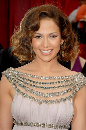 Foto de Jennifer López con linda sonrisa