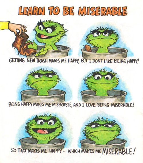 1000 Sesame Street Quotes On Pinterest: Quotes Oscar The Grouch Day. QuotesGram