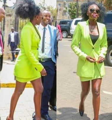 Kenyan Singer 'told to cover legs' before addressing parliament