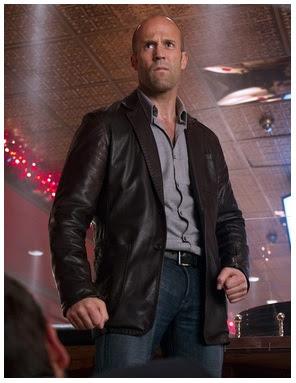 Model Jaket Kulit Jason Statham Movie Wild Card