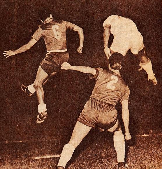 Brasil y Chile en Campeonato Panamericano 1956, 1 de marzo