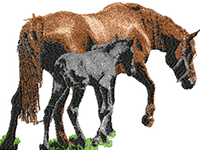 https://nancyembroidery.blogspot.com/2017/08/mother-and-foal.html