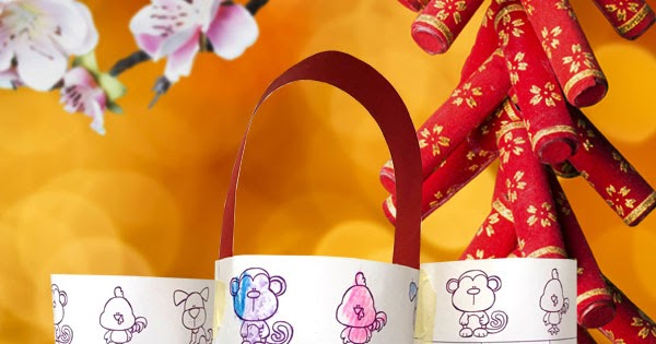 Chinese New Year Zodiac Coloring Lanterns For Kids