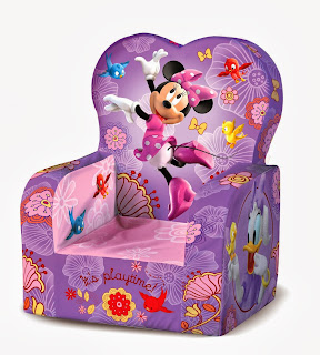 Marshmallow - High Back Chair - Disney's Minnie Mouse