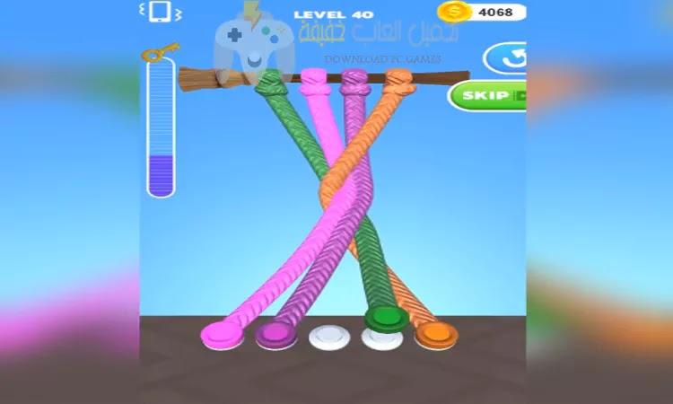 تحميل لعبة Tangle Master 3D برابط مباشر