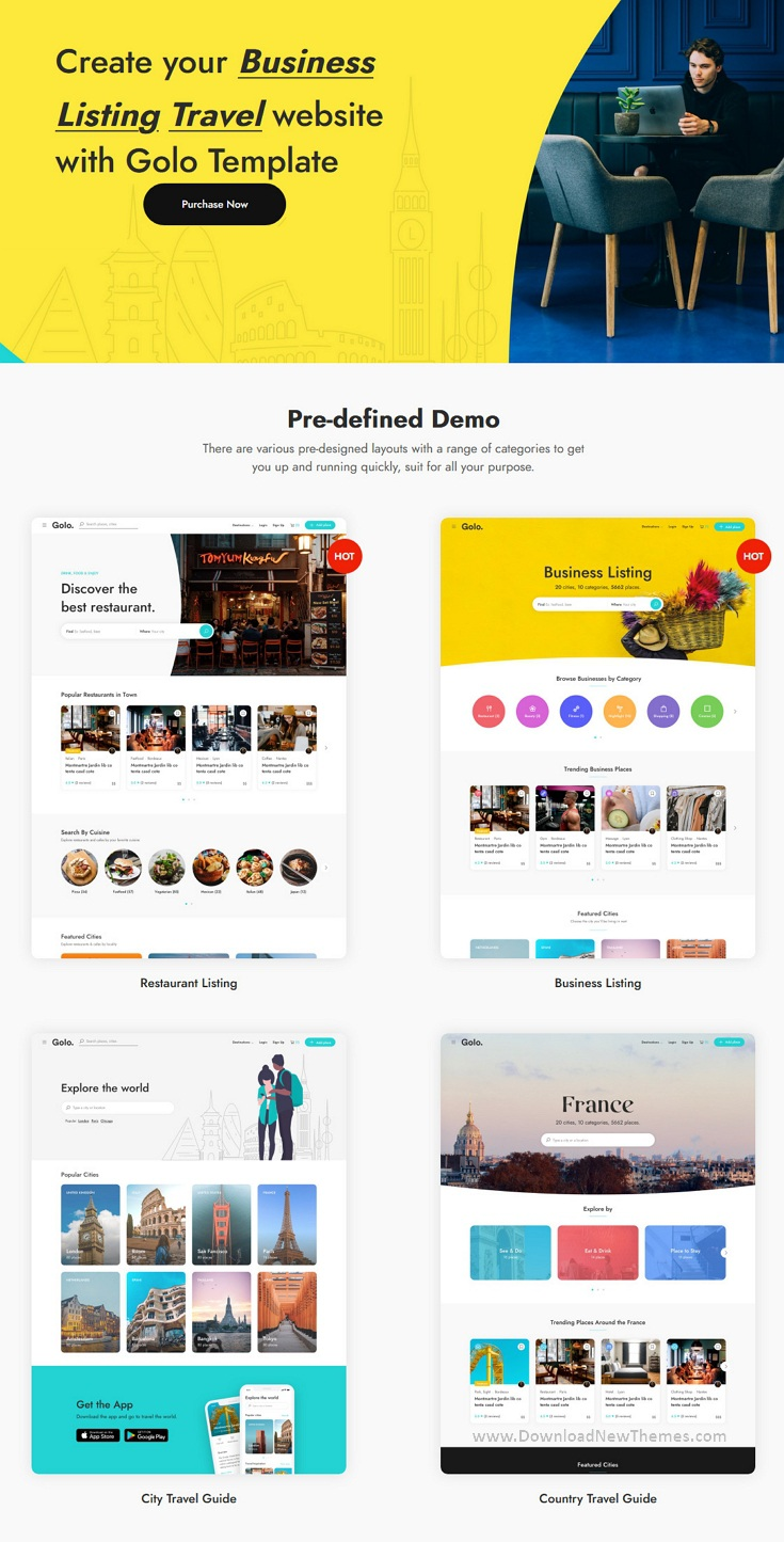 Directory & Listing Responsive Template