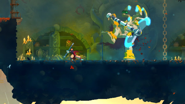 Dead Cells: Fatal Falls gameplay on the Xbox ONE