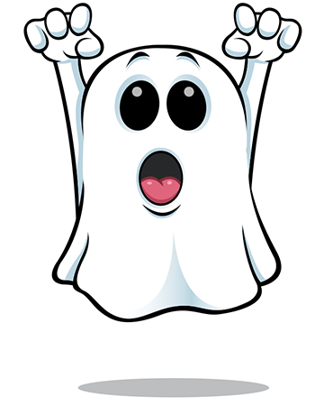 Haunting ghost icon