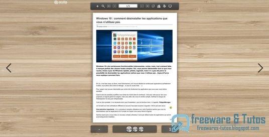 Anyflip : un bel outil pour créer des livres interactifs