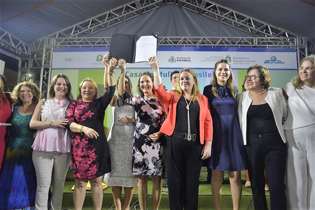 1688a0322d0c5 Unidade da Casa da Mulher Brasileira no Ceará é inaugurada