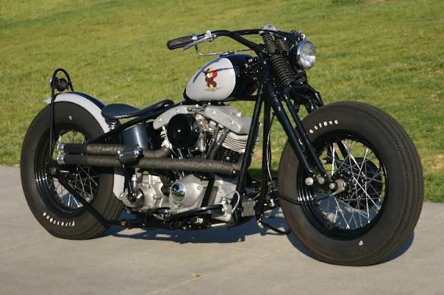 Harley Davidson Shovelhead By Garage Company Hell Kustom