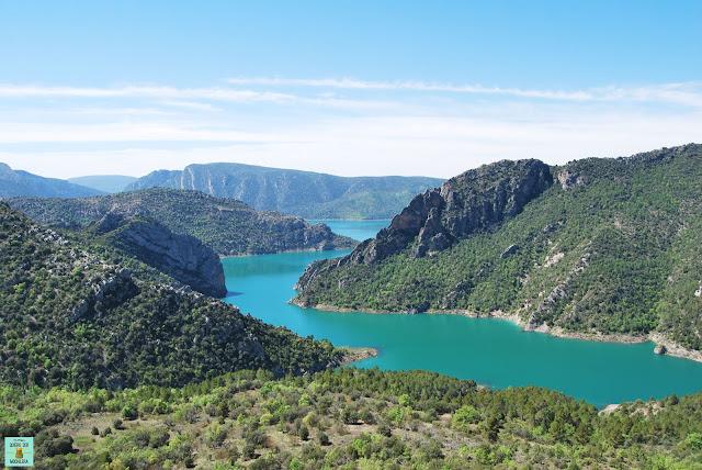 Pantano de Canelles, Cataluña