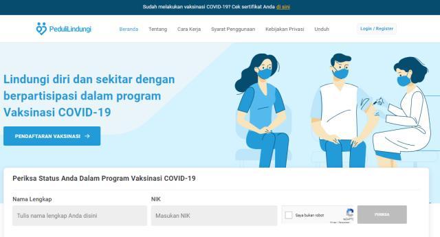 Cara Download Sertifikat Vaksin