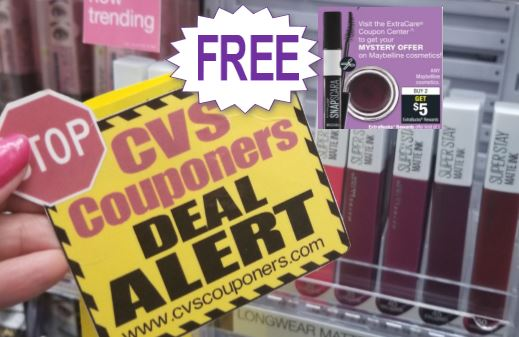FREE Maybelline Lip Gloss at CVS 10-20-10-26