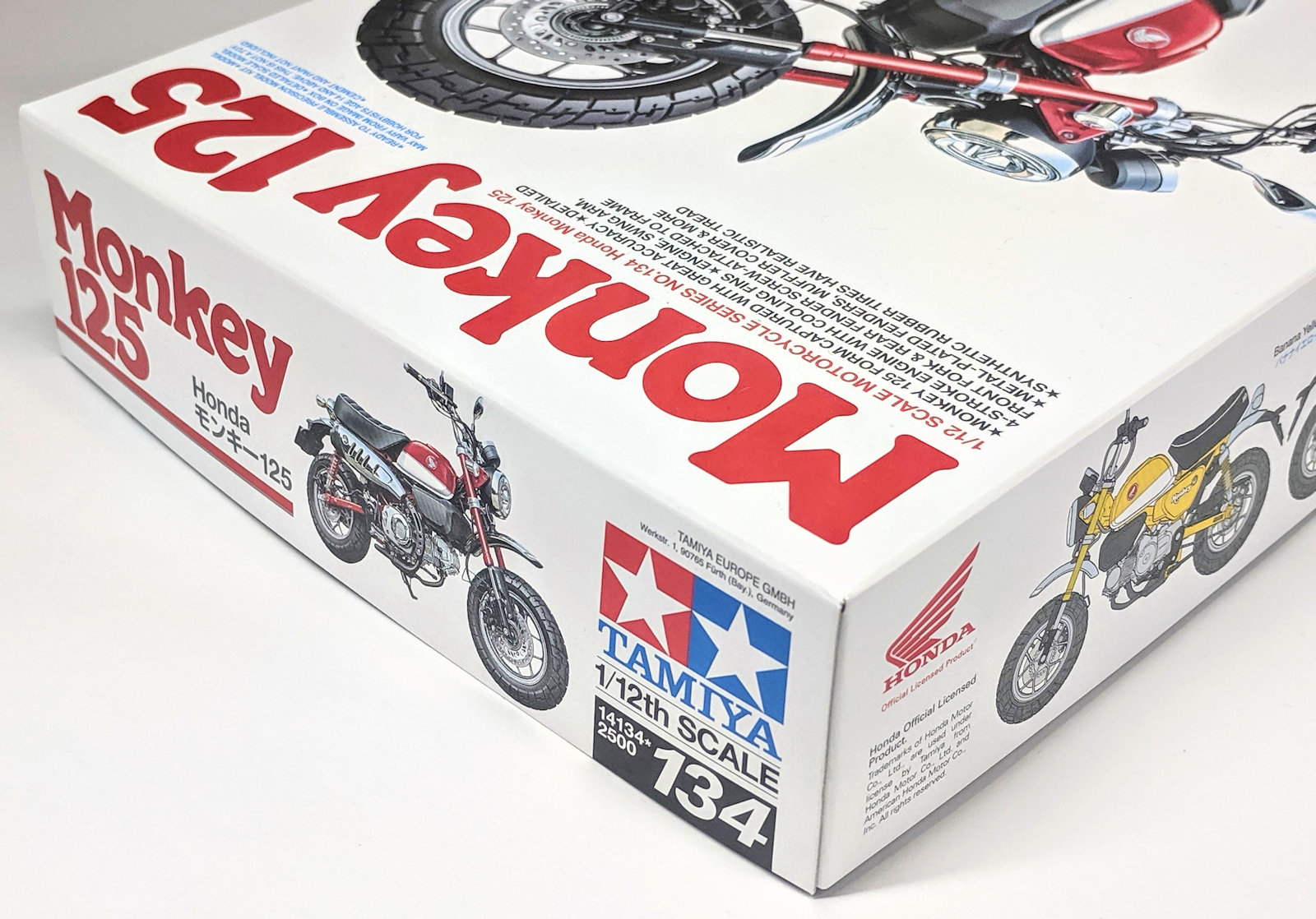 Build Review Pt I: Tamiya's 1/12th scale Honda Monkey 125