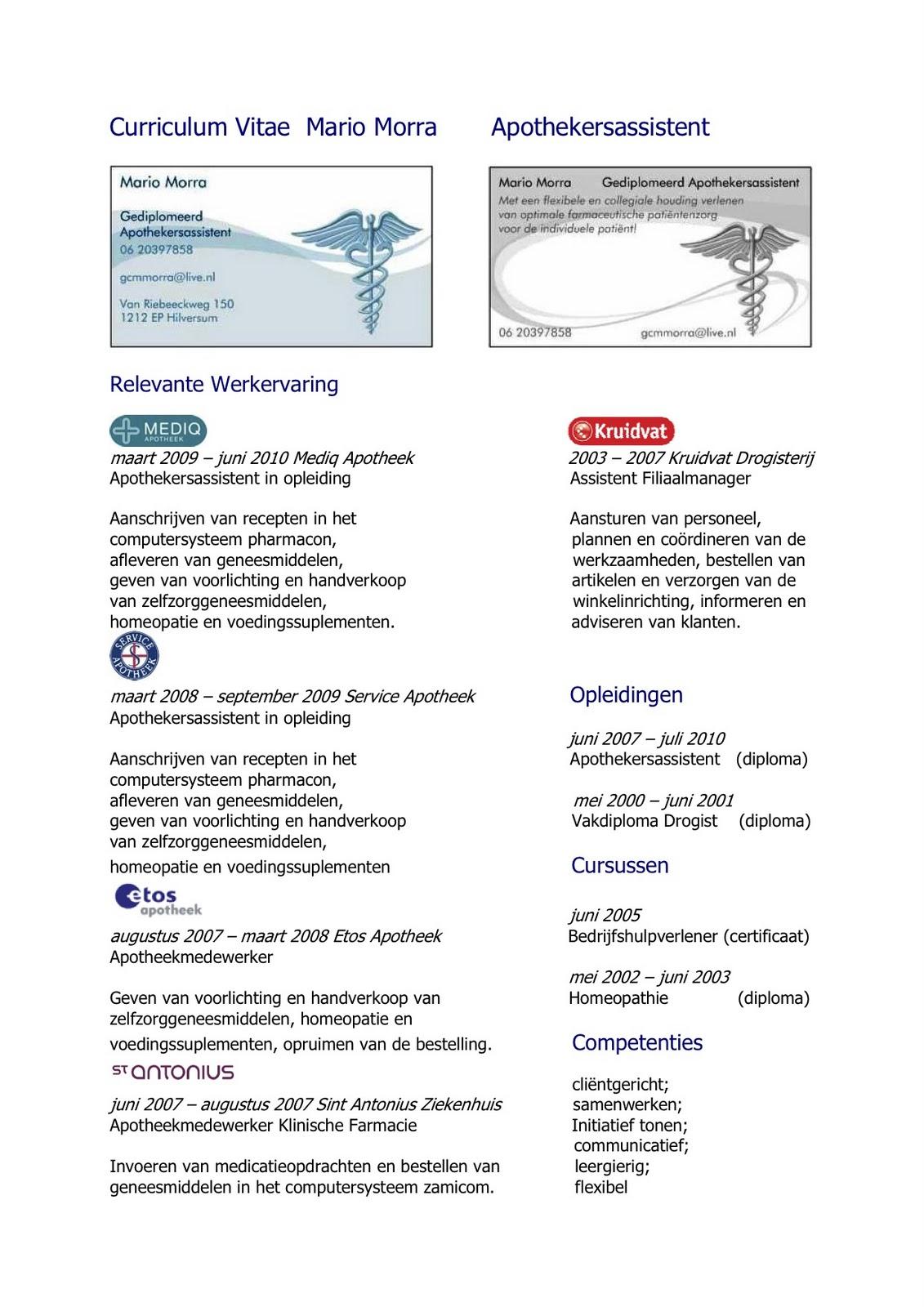 CV   TalentFirst Nederland BV