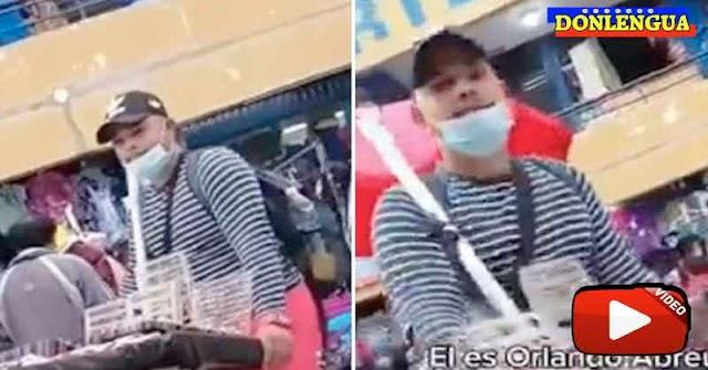 Vídeo confirma que Orlando Abreu era un venezolano muy trabajador en Perú