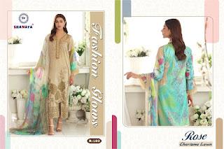 Shanaya Rose Charizma Lawn Pakistani Suits
