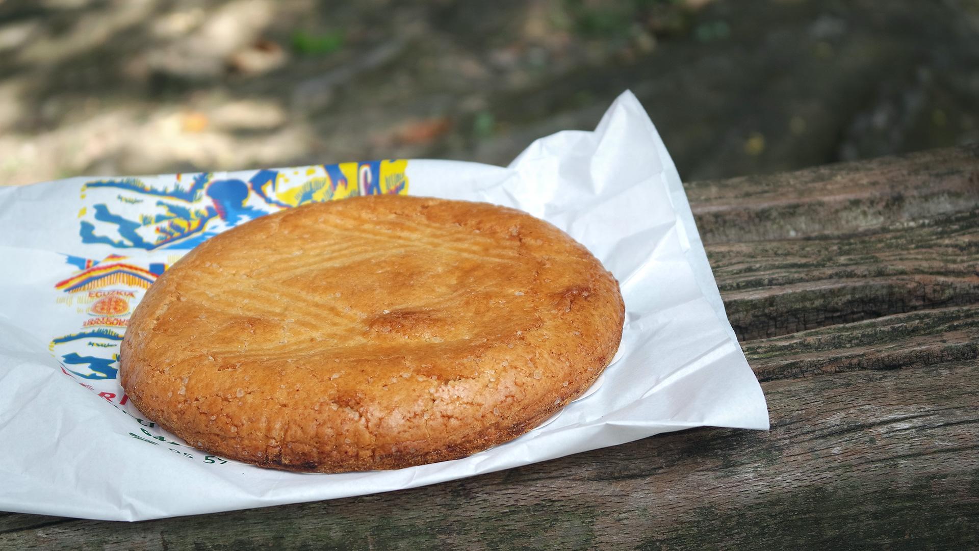 Le gâteau basque du moulin de Bassilour