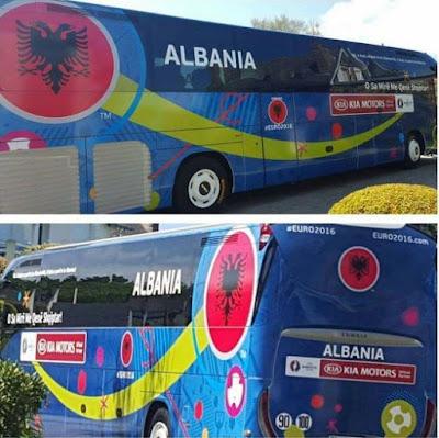 Albania Euro 2016  - L'Albania è in Francia, tremate le Aquile sono arrivate!