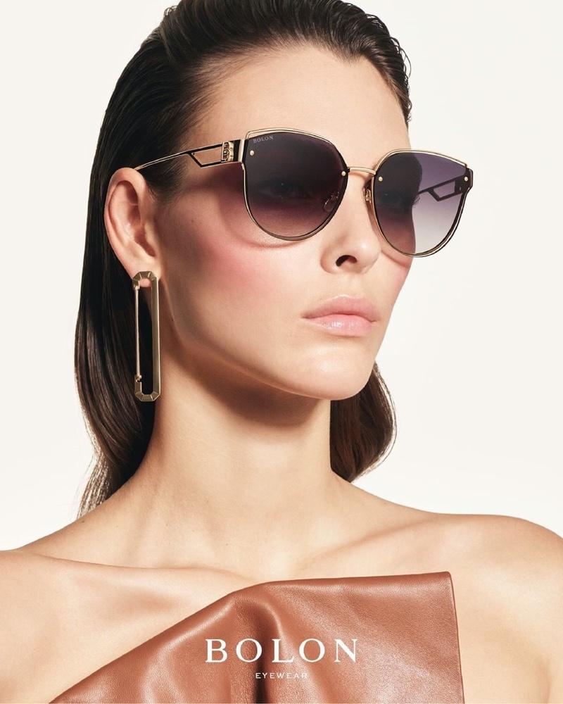 Vittoria Ceretti stars in Bolon Eyewear summer 2021 campaign.