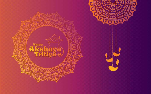 happy akshaya tritiya background