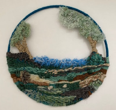 Circular weaving project completed