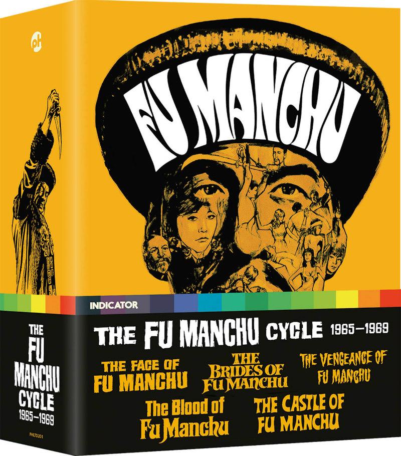 THE FU MANCHU CYCLE, 1965-1969 boxset