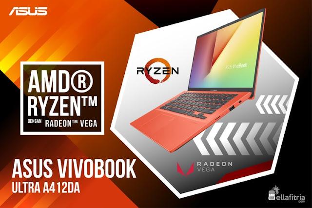 ASUS VivoBook 14 A412DA - AMD Ryzen