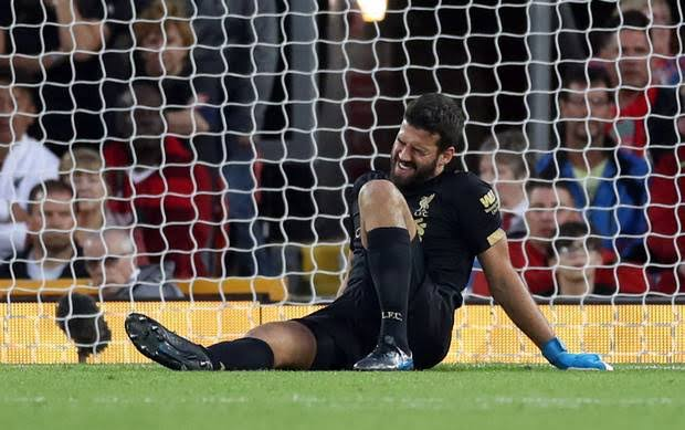 Why Liverpool won't rush Alisson return from injury