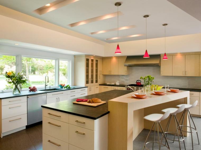 Diseño de cocinas modernas - 98 diseños de cocinas