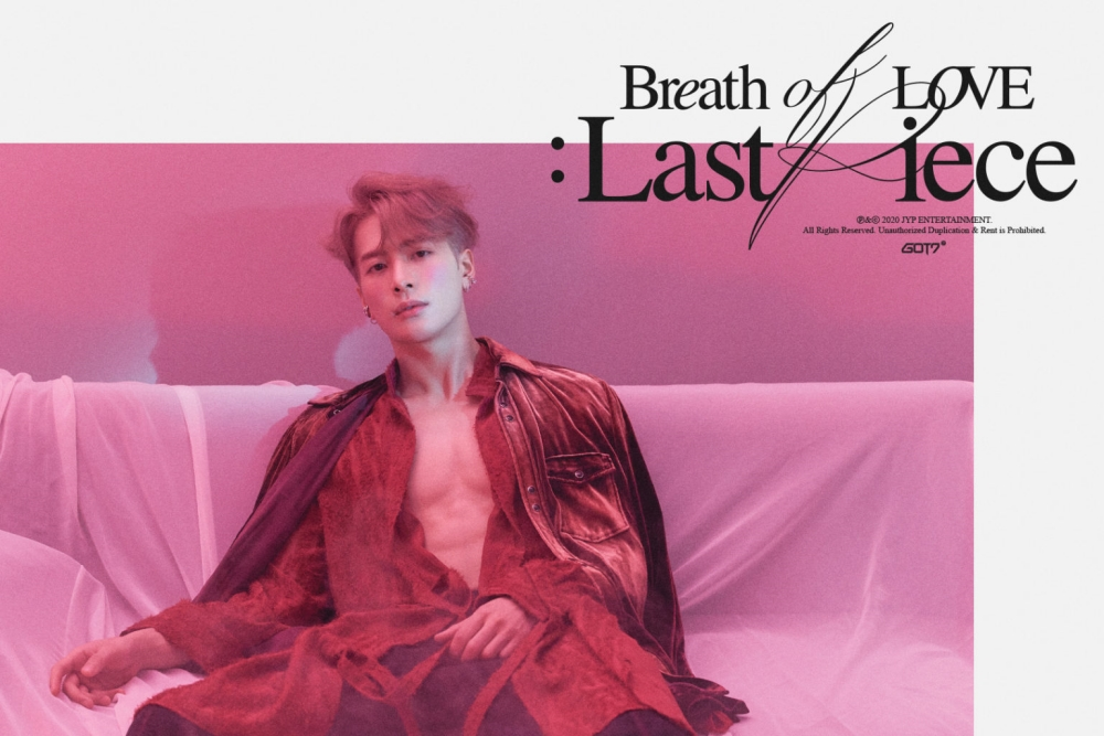 GOT7's Jackson Showing Off His Chest and Abs on Comeback Teaser 'Breath of Love: Last Piece'