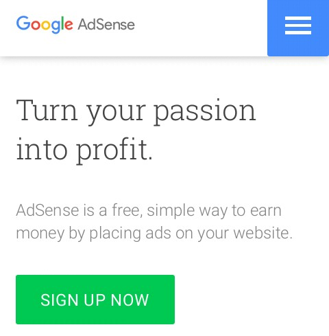 adsense official website
