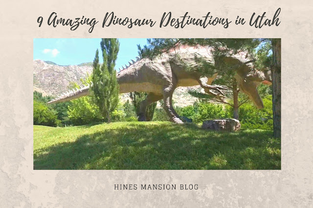 9 Amazing Dinosaur Destinations in Utah blog cover image