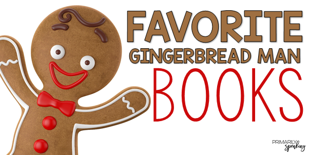 Gingerbread Books for the Primary Classroom