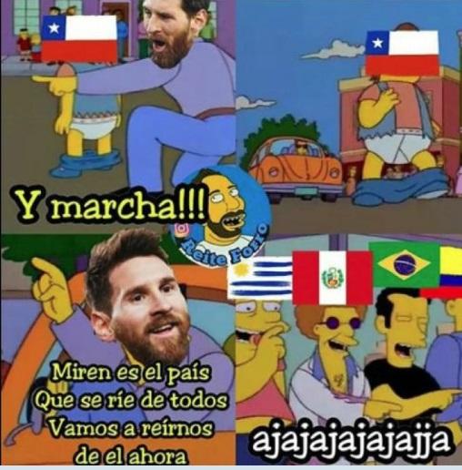 Memes Chile fuera del Mundial Rusia 2018