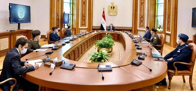 """الرئيس """" السيسي"""" يتابع المشروع القومي  """"مستقبل مصر"""" والذي يعتبر إضافة قوية لسلسة المشروعات التنموية  التي بدأها منذ توليه مقاليد الحكم"""