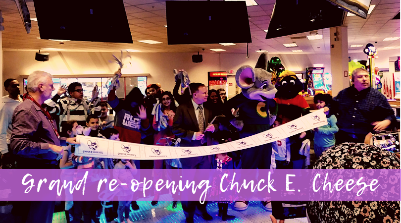 Hey, Northeast Ohio! @ChuckECheese has a Whole New Look!