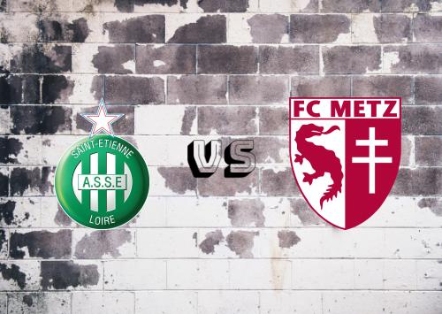 Saint-Étienne vs Metz  Resumen